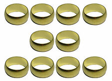 15mm Brass Olives (10 Pack) For Compression Plumbing Fittings