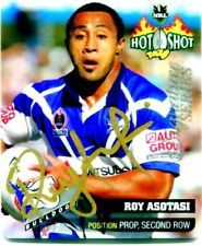 2006 NRL SIGNATURE SERIES TAZO ROY ASOTASI CANTERBURY BULLDOGS 1/20 ONLY