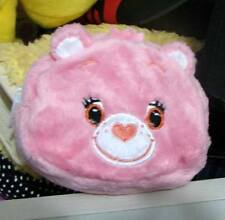 Collectable Gift@12cm Pink Rainbow Cheer Care Bear Purse/Zero Wallet New