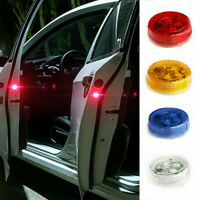 2X Universal Car Door Warning Light Anti-collid LED Opened Warning Flash Decor