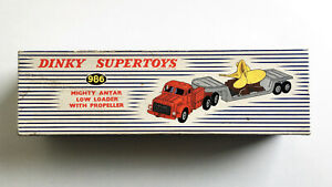 Dinky 986 Mighty Antar Low Loader with Propellar BOX ONLY