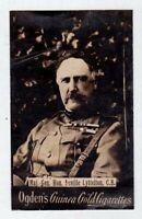 1900 Ogden's Guinea Gold Cigarettes Maj. Neville Lyttelton C.B. Tobacco Card