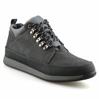 Mens Walking Hiking Trail Work Winter Fur Zip Up Trainers Ankle Boots Shoes Size