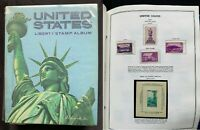 US Liberty Stamp Album 1935-1993 - Nearly Complete - Mostly Mint MNH