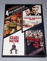 War Heroes Collection: 4 Film Favorites (DVD Set) *RARE opp