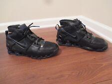 Classic 2004 Used Worn Size 12 Nike Shox Bomber Elite Shoes Black Blue