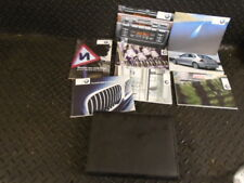2003 BMW 3 SERIES E46 316Ti COMPACT SE 3DR OWNERS MANUAL HANDBOOK & WALLET