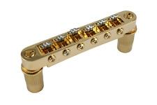 Gold Modern Big Hole Roller Saddle Tune-a-matic Guitar Bridge GB-0596-002