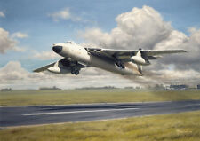 Vickers Valiant RAF Jet Bomber Aircraft Plane Blank Birthday Fathers Day Card