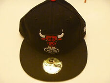 NBA CHICAGO BULLS BASKETBALL CAP 5950 New Era 59FIFTY NEW w/stickers 7 1/8