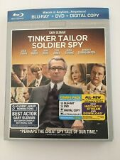 Tinker, Tailor, Soldier, Spy (Blu-ray/DVD, 2012, 2-Disc Set)