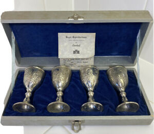 Antique Silver-Plated Cups&Goblets-regal Reproductions From Collection CORBELL