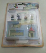RARE New Moomin Valley Miniature Garden box character figure box set RARE new