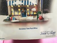 "DEPT 56 Snow Village "" Christmas Time Post Office ""."