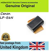 Genuine Original Canon LP-E6N Battery for EOS 5D2 5D3 6D 60D 70D 7D Mar