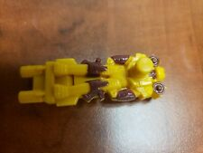G1 TRANSFORMERS AUTOBOT TARGETMASTER LANDFILL SILENCER Part Yellow