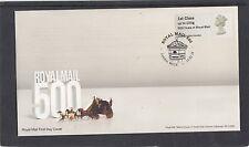 GB 2016  Post & Go Machin Head single 1st stamp RM 500 oprint m/c A6 FDC WC1X pk