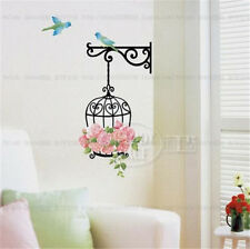 Rose Cage Room Decor Removable Wall Stickers Decal Decoration Wandtattoos