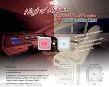 LED Light 12 volt Ceiling Light RED White LED's Dimmable Caravan Boat 96 LEDS