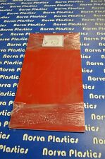 """132A Red on White Engraving Stock - 24 1/4""""x 12 7/8""""x 1/16"""""""
