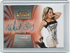 Velvet Sky 2010 TNA Tristar The New Era A27 Autograph Auto AU Signed TNT WEW