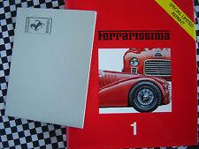 rare livre FERRARISSIMA n° 1 GTB/GTS TURBO / 340 MEXICO / 330 GT & 250 GT/E 2+2