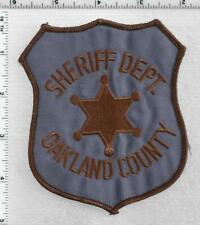 Oakland County Sheriff (Michigan) 2nd Issue Uniform Take-Off Shoulder Patch