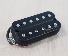 Johnny Eleca Electric Guitar Pickup Humbucker, Bridge, Black, PGH-1B-B