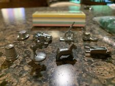 Monopoly Deluxe Edition Game Money and  8 Pieces