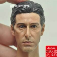 "FreeShip 1/6 Scale The God Father Young Al Pacino Head Sculpt For Hot 12"" Figure"