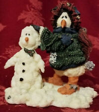 Boyds bears friends Gaston Coldfin The Masterpiece Wee Folkstones Snow People