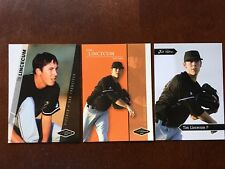 2006 TIM LINCECUM Rookies GOLD Parallel Mint RCs  /100 ALL 3 CY YOUNG WINNER