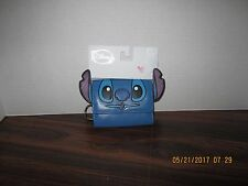 """Disney Blue """"STITCH"""" Snap Wallet -New With Tags BIOWORLD Trifold"""