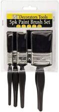 151 Decorators Tools Paint Brush Set - 5 Pack