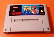 SUPER JAMES POND  100% ORIGINAL SUPER NINTENDO SNES GAME  PAL VERSION FREEPOST