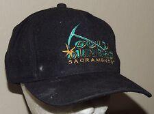 Sacramento Gold Miners Vintage CFL YoungAn Black Snapback Hat Cap