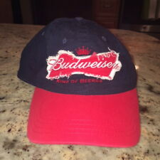 Budweiser King Of Beers Snapback Hat Adjustable Cap One Size Fits All
