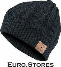 Archos Music Beany Bluetooth Headphone Black Knitted Hat IP55 Genuine New