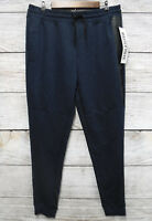 Jogger Pants Five by Five by Master Piece Mens Size Large Blue Marled Slim New