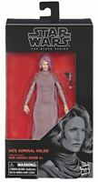 Star Wars Black Series Hasbro 6 in Admiral Holdo Action Figure in Box In Stock!