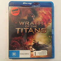 Wrath Of The Titans (Blu-ray, 2012, ExRental) BluRay disc ONLY - NO 3D - NO CASE