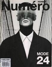 Homme Numero French Fashion Magazine #24 Jean Michel Clerc 052518DBF