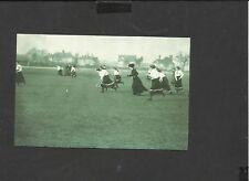 Nostalgia Postcard Hockey West Herts v Bishops Stortford 1910