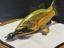 "Bob Foster Predator 12"" Bass W / Redwing Blackbird spearing decoy"