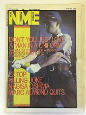 NEW MUSICAL EXPRESS NME MAGAZINE  20 AUGUST 1983  SAKOMOTO   LS