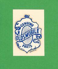 "VINTAGE ORIGINAL 1964 ED ROTH ""GENUINE OLDSMOBILE PARTS"" WATER SLIDE DECAL ART"