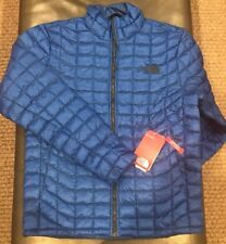 The North Face Men's Thermoball Jacket. Small. Turkish Sea (MSRP $199). NEW