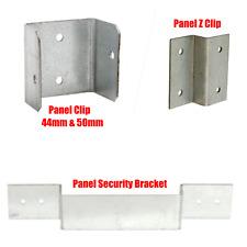 More details for fence panel security bracket clip locking post trellisdecking garden anti-rattle