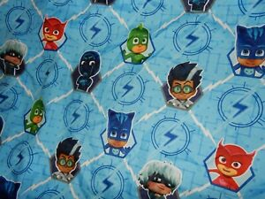 LN Disney PJ MASKS Microfiber Toddler Bed Fitted Bottom Sheet (Fabric)