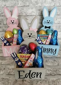 Personalised Easter Bunny Chocolate Hamper Gift Box